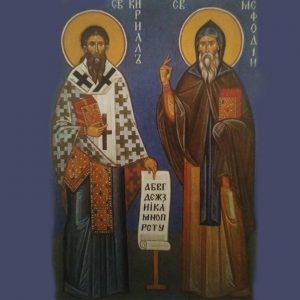 Preghiera ai Santi Cirillo e Metodio