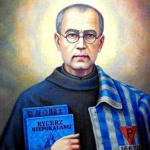 Benedizione serale con la vita di San Massimiliano Kolbe