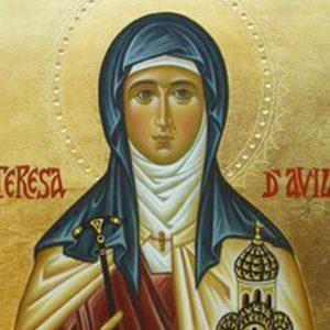 Benedizione serale con la vita di Santa Teresa d'Avila