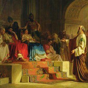 """La parola del giorno """"Festo espose al re le accuse contro Paolo"""""""