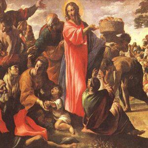 """La parola del giorno """"…Rispose Gesù: Fateli sedere…"""""""