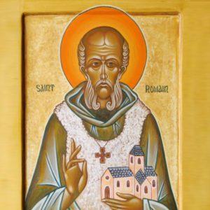 Preghiera a San Romano di Condat