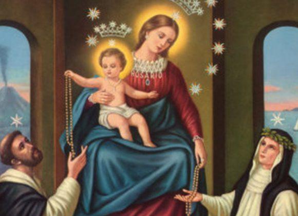 Preghiera alla Beata Vergine Maria del Rosario