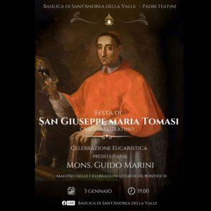Santa Messa in onore di San Giuseppe Maria Tomasi