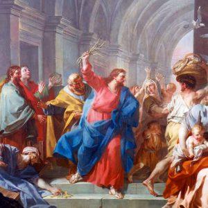 """Parola della Domenica """"Scacciò tutti fuori dal tempio"""""""