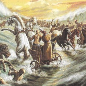 """La parola del giorno """"Mosè stese la mano sul mare…"""""""
